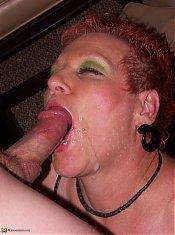 Kinky housewife getting cock